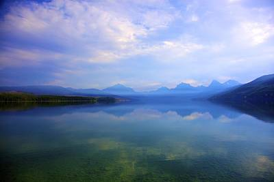 Photograph - Lake Mcdonald by Terry Horstman