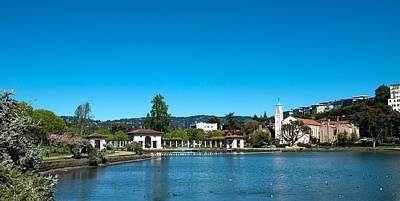 Lake Merritt In Springtime, Oakland Print by Panoramic Images
