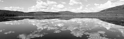 Lake Near Beaver Creek. Yukon Print by Panoramic Images