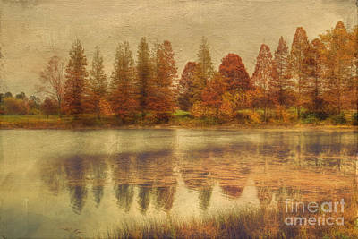 Fall Scenes Photograph - Lake Nevin by Darren Fisher