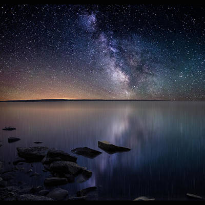 Galactic Photograph - Lake Oahe by Aaron J Groen