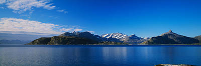 Landscape In Norway Photograph - Lake On Mountainside, Sorfolda, Bodo by Panoramic Images