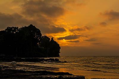 Webster Ny Photograph - Lake Ontario Sunset At Shore by Tim Buisman