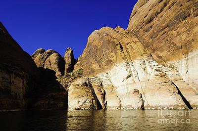 Lake Powell Rock And Sky Print by Thomas R Fletcher