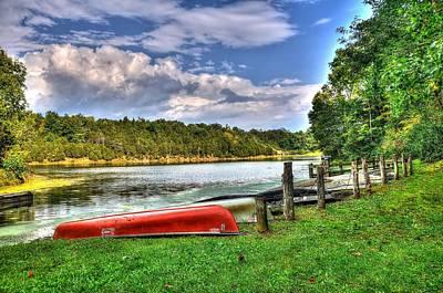 Rockbridge Photograph - Lake Robertson by Todd Hostetter