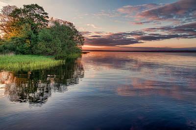 Sun Photograph - Lake Sunrise by EXparte SE