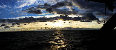 Merchant Mariners Photograph - Lake Superior Sunrise by Tim  Telep