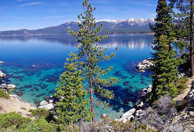 Sand Harbor Photograph - Lake Tahoe Beauty by Scott McGuire
