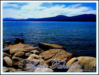 Lake Tahoe Magic Print by Bobbee Rickard