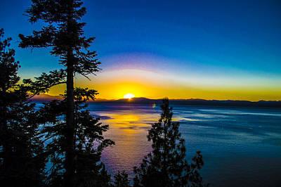 Lake Tahoe Photograph - Lake Tahoe Sunsets by Brandon McClintock
