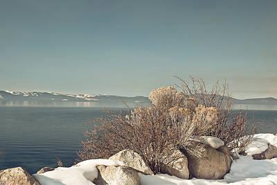 Kim Photograph - Lake Tahoe Winter by Kim Hojnacki