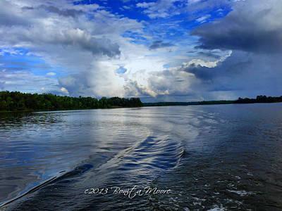Lake Tuscaloosa Print by Bonita Moore