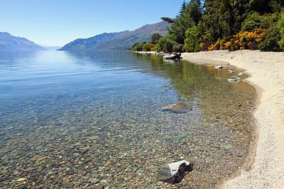 New Zealand Photograph - Lake Wakatipu by Alexey Stiop