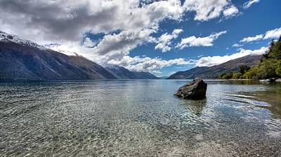 Lake Wakatipu Print by Shari Mattox