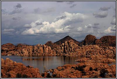 Lake Watson Panorama Original by Wayne King