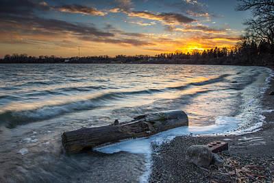 Driftwood Digital Art - Lake Yankton Minnesota by Aaron J Groen