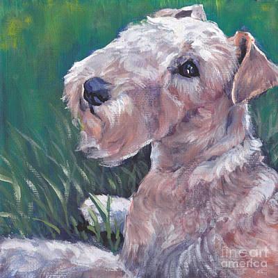 Lakeland Dog Painting - Lakeland Terrier by Lee Ann Shepard