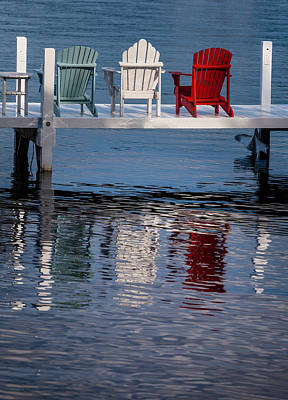 Lakeside Living Number 2 Original by Steve Gadomski