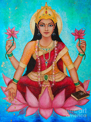 Hindu Goddess Digital Art - Lakshmi by Dori Hartley