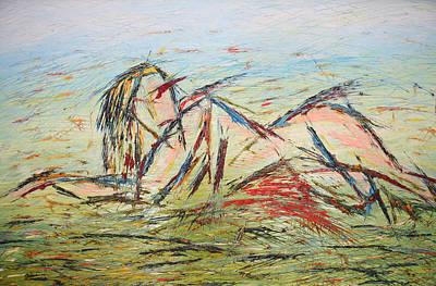 Quadri Painting - L'amante by Enrico Nicodemo