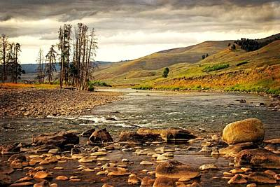 Photograph - Lamar Downstream by Marty Koch