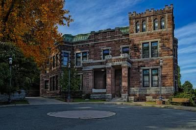 Mansion Photograph - Lambert Castle by Susan Candelario