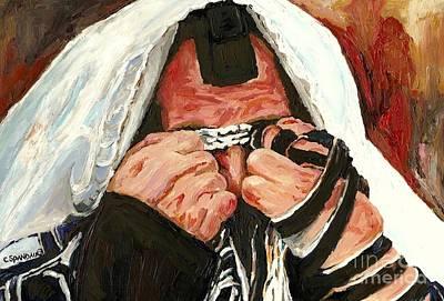 Character Studies Painting - Lamentations by Carole Spandau