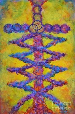 Laminin Original by Deb Magelssen