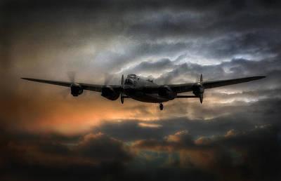 Raf Photograph - Lancaster Bomber  by Jason Green
