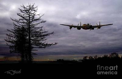 Ghost Busters Photograph - Lancaster Flight  by Tom Straub