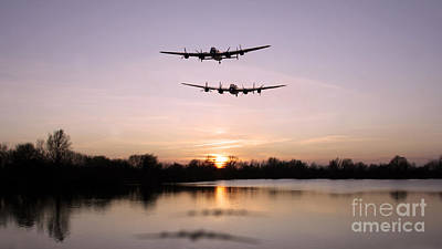 Lancasters Lakeside  Print by J Biggadike