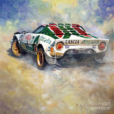 Lancia Stratos 1976 Rallye Sanremo Original by Yuriy Shevchuk