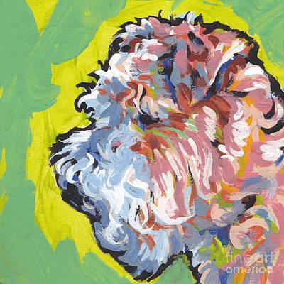 Lakeland Dog Painting - Land Of Lakes by Lea S