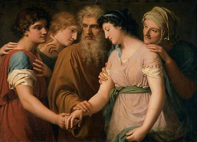 Landi Gaspare, The Marriage Of Sarah Print by Everett