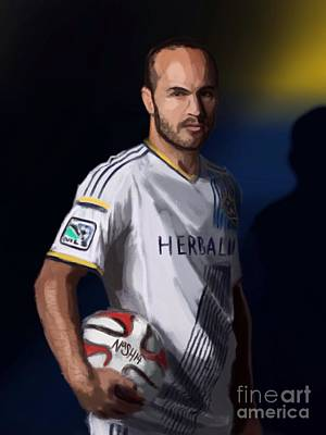 Landon Donovan Digital Art - Landon by Jeremy Nash