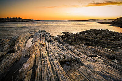 Bailey Island Photograph - Lands End by Robert Clifford