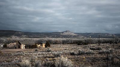 Bleak Desert Digital Art - Landscape 16 B by Otri Park