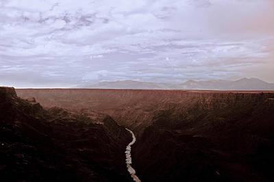 Del Rio Digital Art - Landscape 17 A Taos Nm by Otri Park