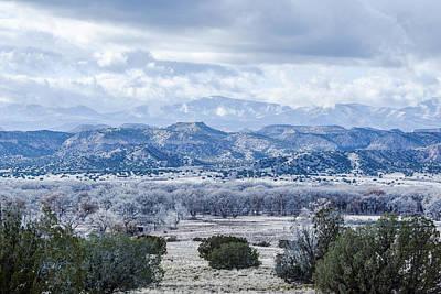 Bleak Desert Digital Art - Landscape 18 D Los Alamos Nm by Otri Park