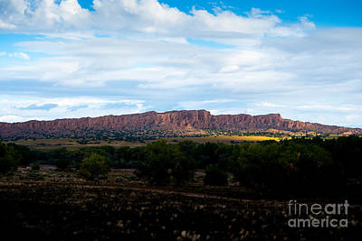 Bleak Desert Digital Art - Landscape 22 D Los Alamos Nm by Otri Park