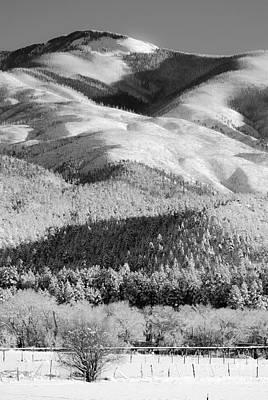 Del Rio Digital Art - Landscape 25 D Taos Nm by Otri Park