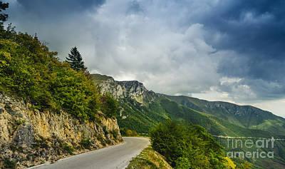 Country Scenes Pyrography - Landscape by Jelena Jovanovic