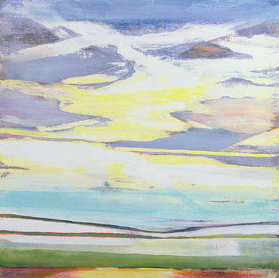 Mountain Mixed Media - Landscape by Lou Gibbs