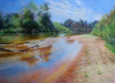 Beautiful Painting - Landscape by Nancy Stutes