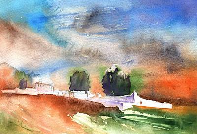 Lanzarote Painting - Landscape Of Lanzarote 03 by Miki De Goodaboom