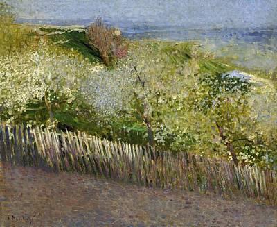 Venice Ca Painting - Landscape by Serafino Macchiati