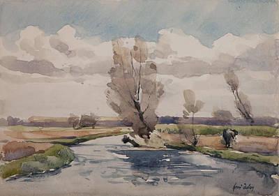 Landscape Print by Henri Duhem