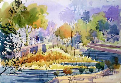 Village Painting - Landscape2 by Raj Maji