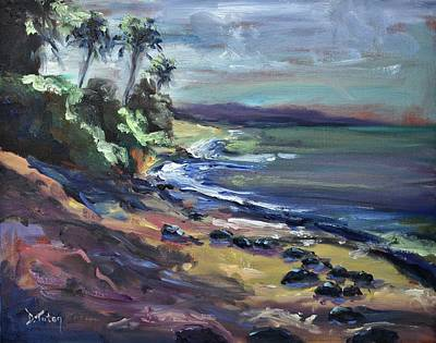 Landscape Painting - Laniakea by Donna Tuten