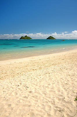 Lanikai Beach 2 - Oahu Hawaii Print by Brian Harig